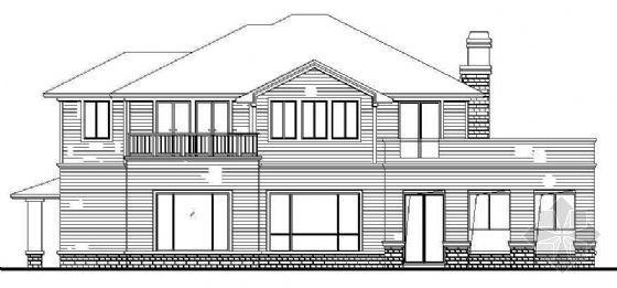 别墅设计方案集A-06型别墅