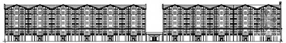 [香河县]某花园小区六层住宅建筑施工图(带节能计算)