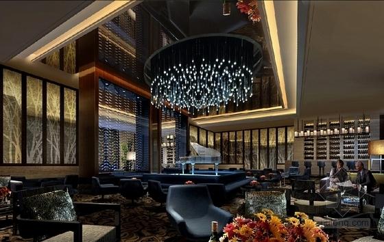 [青岛]高档温馨浪漫酒店设计方案含效果图-[青岛]高档温馨浪漫酒店设计效果图