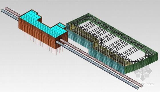 [江苏]紧邻地铁站16米深基坑地下连续墙支撑支护设计方案(附有限元分析计算 施工图)