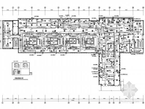 手术室洁净空调及通风系统设计施工图(智能变频热泵)