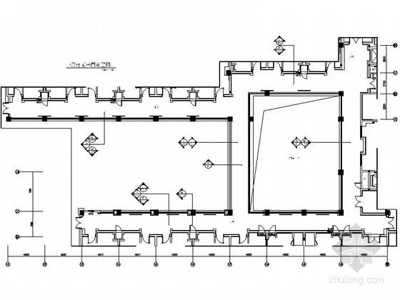 [东莞]奢华典雅酒店现代风格过道装修施工图(含效果)