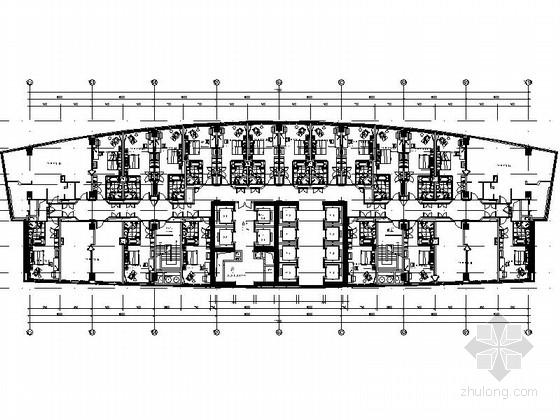[广东]全球连锁尊贵五星级国际豪华酒店设计装修施工图