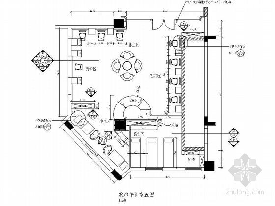[深圳]品牌酒店美发店装修竣工图