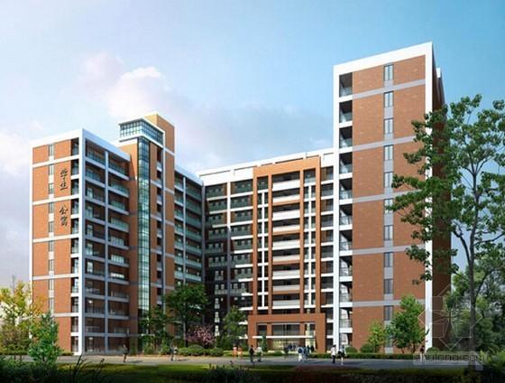 [安徽]大学3栋学生公寓楼建筑安装工程预算书(含建筑结构水电图纸)
