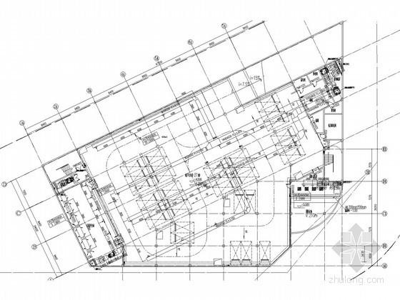 [江西]多层商业街建筑空调通风防排烟系统设计施工图(大院设计)
