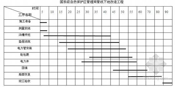 [重庆]国家级风景区管线下地施工组织设计