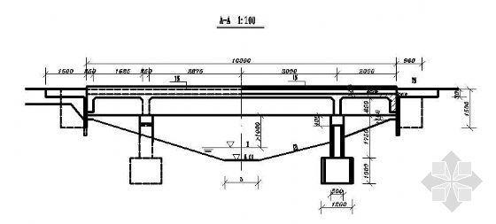 某土地整理规划阶段支斗沟渠桥涵设计图