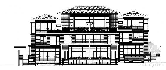 丹堤A区12号楼建筑施工图
