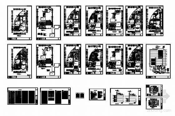 某公司综合楼中央空调设计图纸