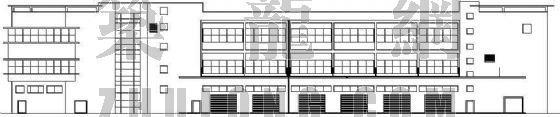 某厂房水电、消防、通风、建筑施工图