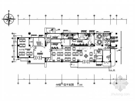 [江苏]某人民医院医技综合楼室内装修施工图