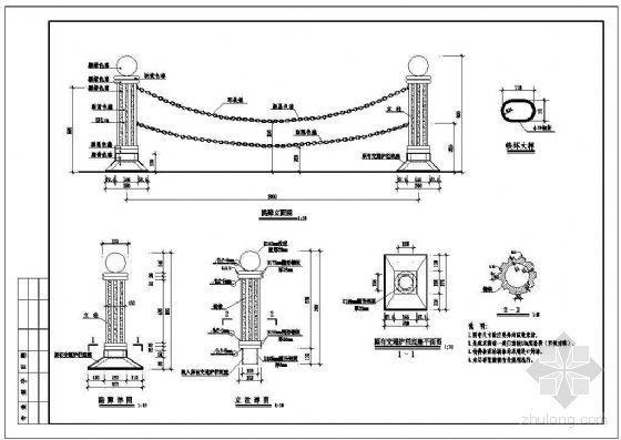 铁艺护栏详图