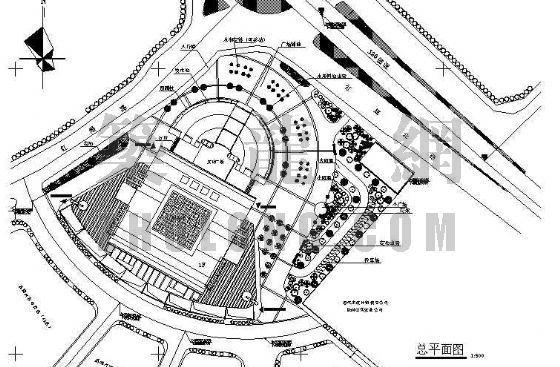 Isuzu汽车博物馆景观资料下载-汽车城环境景观施工图全套