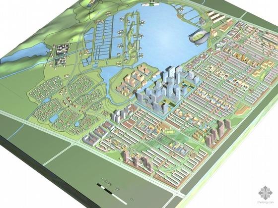 [浙江金华湖]某生态园区规划建筑方案文本