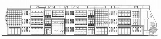 [成都]某国际城幼儿园建筑结构水暖电施工图