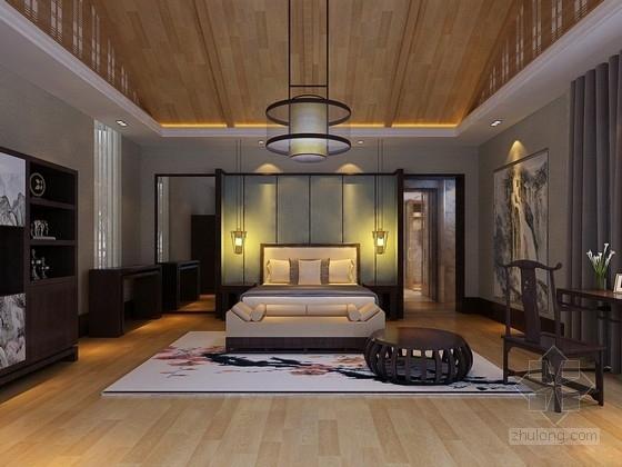 [三亚]中式古典风格滨海风情旅游度假酒店别墅方案图
