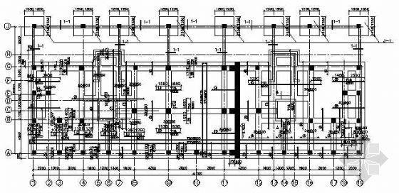 钢筋混凝土框剪结构高层住宅施工图纸