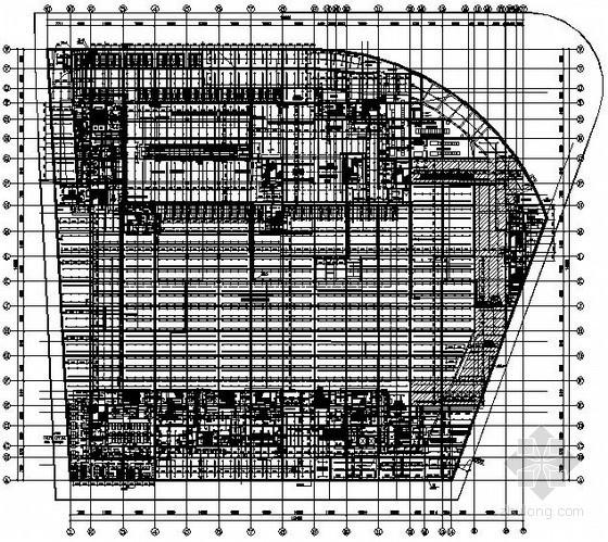 [南京]购物中心给排水施工图纸(含虹吸雨水、太阳能热水、压力排水、中水源水收集系统)