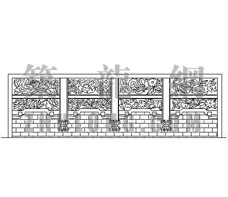 中式造型墙003