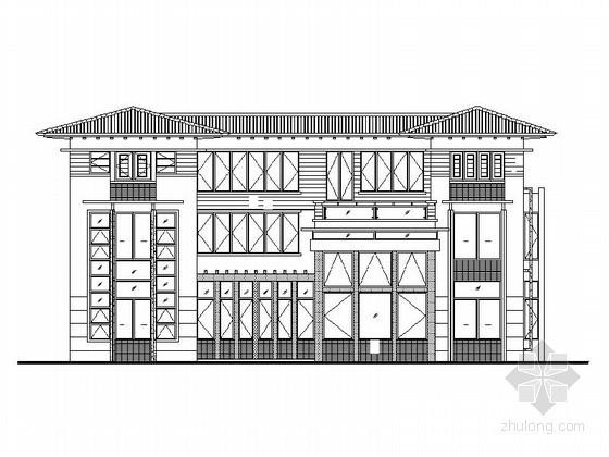 [莆田]湄洲岛鹅尾山某三层别墅(C型)建筑施工图