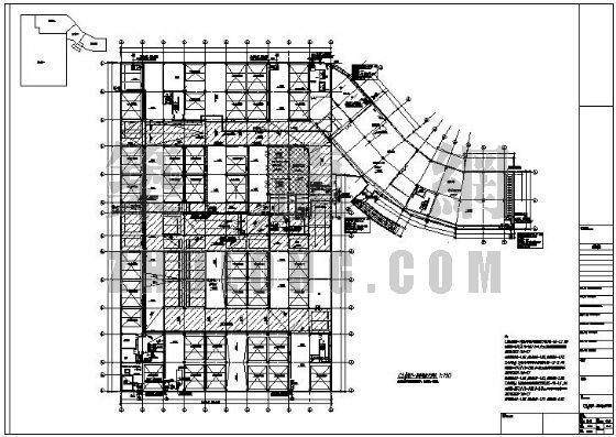某地下室机械式停车库给排水消防设计图