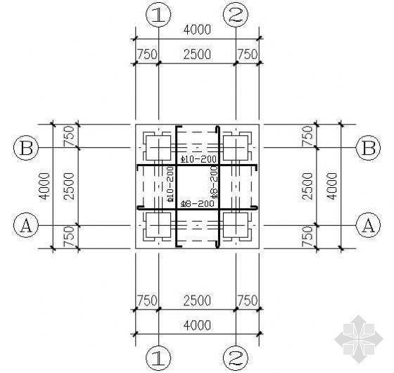 木亭结构配筋详图