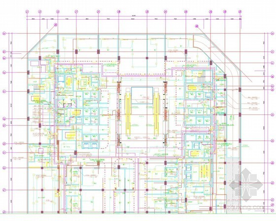 [北京]超高层综合体弱电智能图纸314张(2014最新编制)