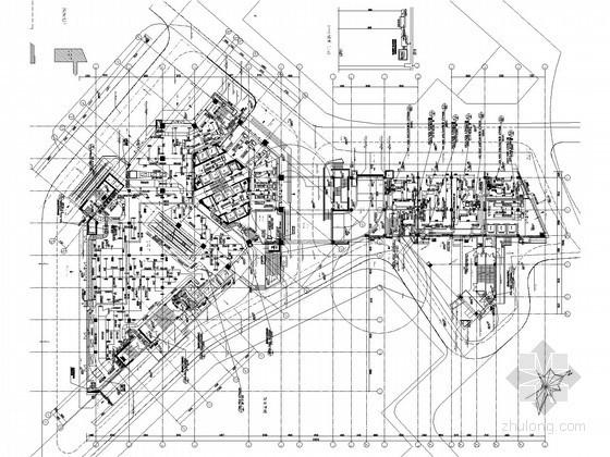 [江苏]超高层知名商业广场空调通风及防排烟系统设计施工图(大院设计)