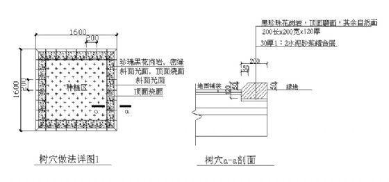 树穴做法详图(1)-4
