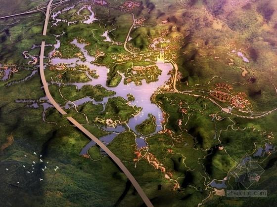[广州]生态旅游休闲城市开发及规划方案文本(知名设计院)