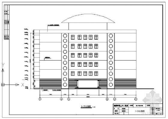 [学士]某六层框架宿舍楼毕业设计