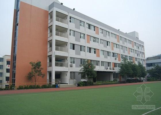 厦门中学教学楼土建工程造价指标(2012.8)