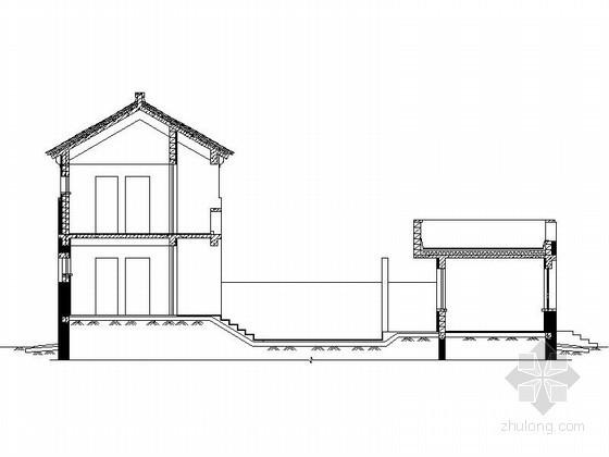 [北京]平谷某二层中式别墅建筑扩初图(236平方米、C型)