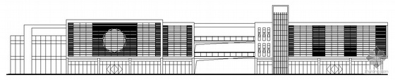 [苏州市]某商业街工程建筑结构水电施工图