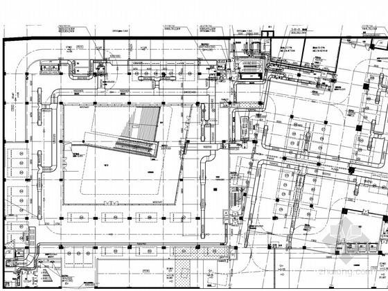 [广东]250米综合办公大楼空调通风防排烟系统设计施工图(甲级院设计 含人防设计)