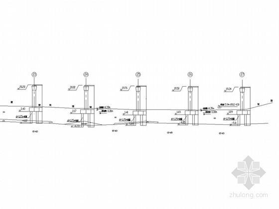 水中墩钢板桩施工节点图(2013年)