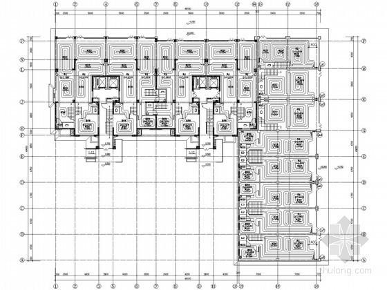 [银川]高层住宅楼地板辐射采暖设计施工图