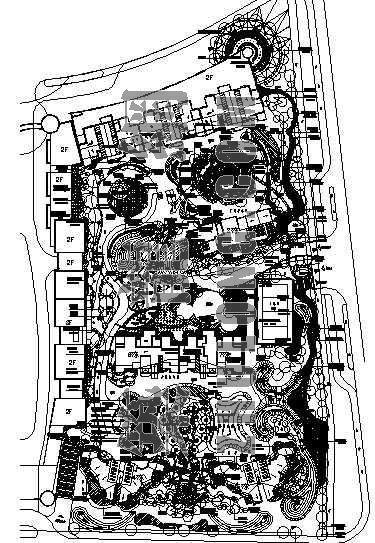 南京某广场住宅景观施工图(一)