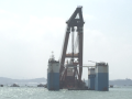 提高海工重件安装一次合格率