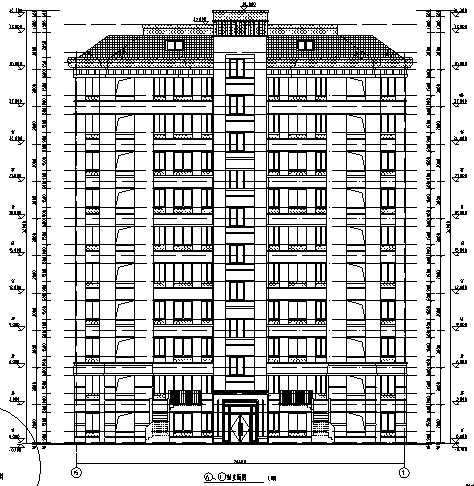 [安徽]2016年花园洋房小区住宅楼及其配套建筑(含水电、暖通等)