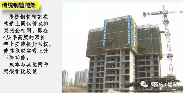 一种新型建筑全钢式升降脚手架,在这里施工就像在室内施工一样