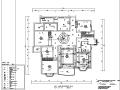 益田花园三居室设计施工图(附效果图)