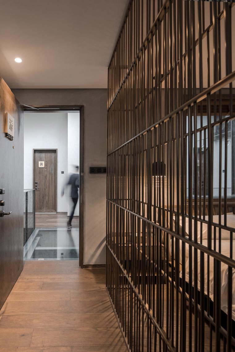 上海原招待所改造的新中式渝舍印象酒店内部实景图 (10)