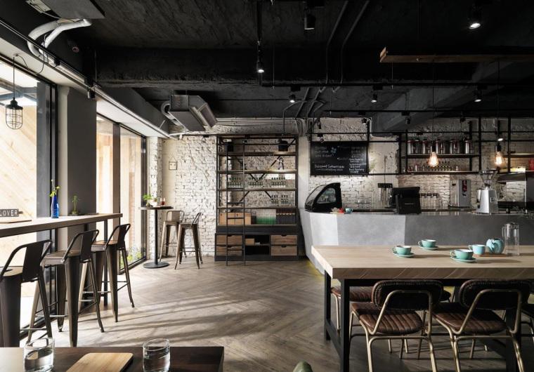 台湾工业风格咖啡馆-2