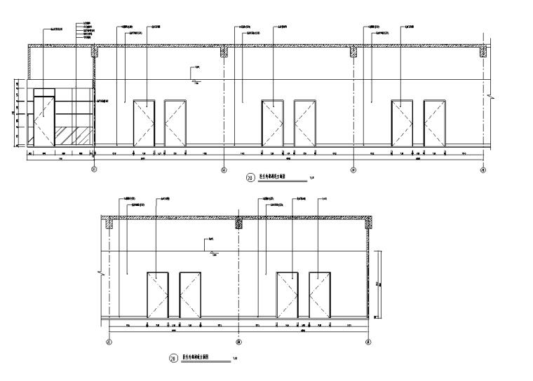 某大型医院门诊、急诊楼室内装修设计施工图(88张)_4