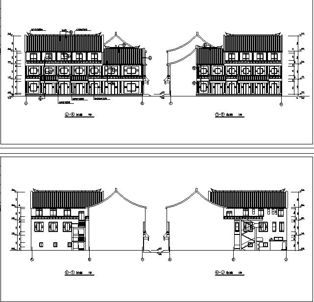 46套古建筑设计施工图(四合院、清真寺、祠堂教堂寺庙宫殿等)