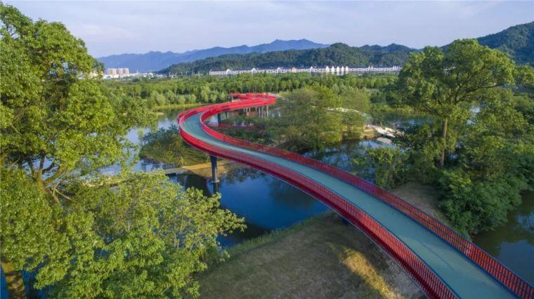 浦阳江生态廊道 | 海绵城市策略下河道的华丽转变