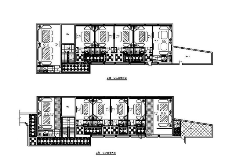 一套完整的欧式KTV设计施工图(含效果图)