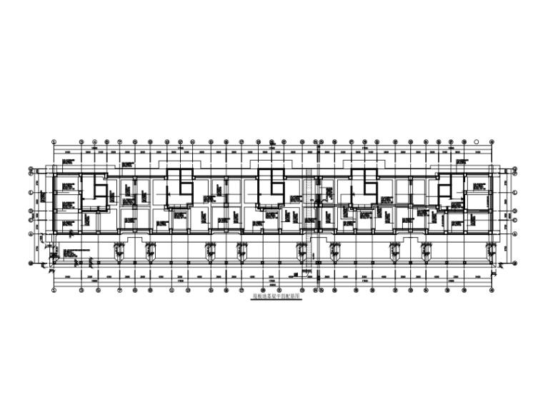 17层高层框支剪力墙结构住宅楼施工图(CAD、28张)